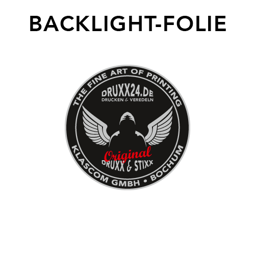 Backlight-Folie